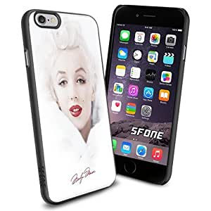 Marilyne Monroe Sign Apple Smartphone iPhone 6 plus inch Case Cover Collector TPU Soft Black Hard Cases