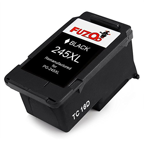 FUZOO Remanufactured for Canon PG-245XL Ink Cartridge High ...