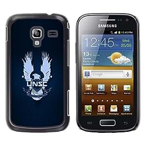 LECELL--Funda protectora / Cubierta / Piel For Samsung Galaxy Ace 2 -- UNSC --