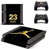 PS4 Console Designer Skin for Sony PlayStation 4 System plus Two(2) Decals for: PS4 Dualshock Controller