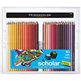 PRISMACOLOR Scholar Pencil, Art Pencils, Box of 60, Assorted Colours (92808HT)