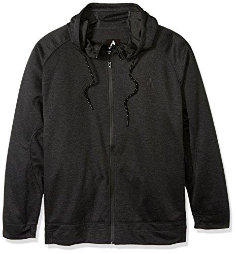 Akademiks Mens Long Sleeve Zip-up Hoodie Sweatshirt