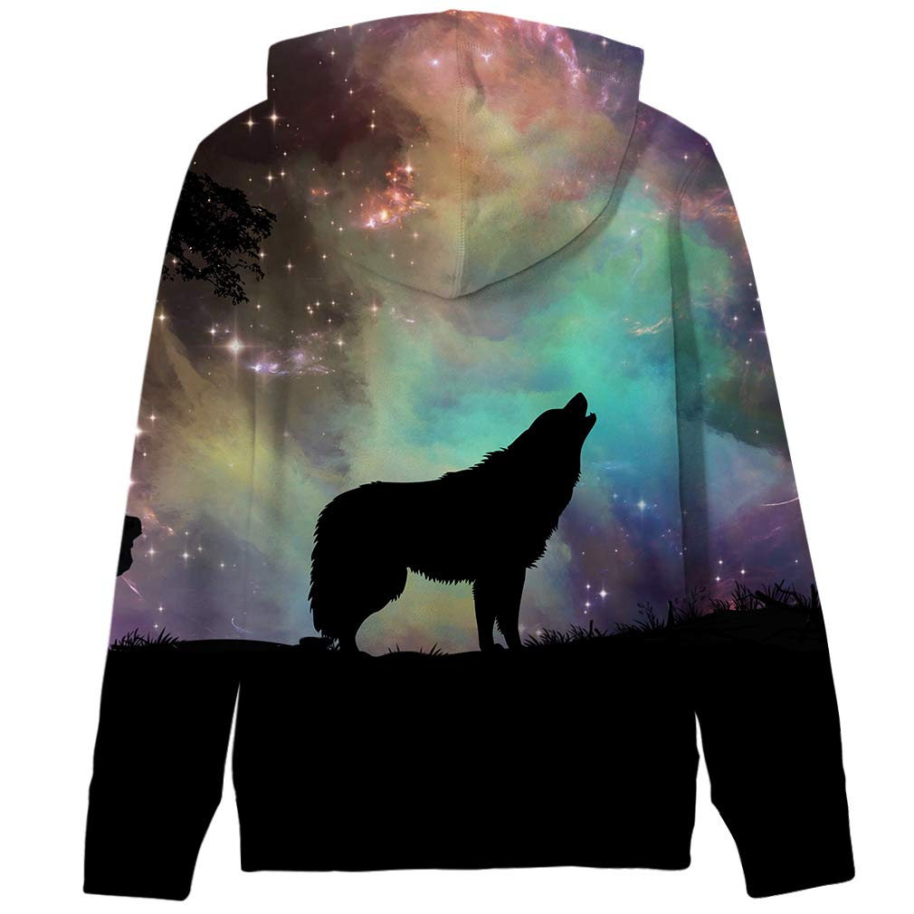 TUPOMAS Boys Girls 3D Print Graphic Sweatshirts Teen Fleece Pullover Long Sleeve Hoodies with Pockets 5-13 Years Old