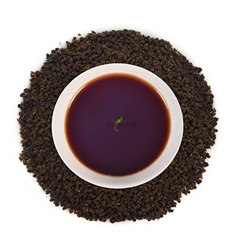 Nargis Assam Loose Leaf Relax Strong Black BOP Tea for Digestion & Stress/100% Natural Herbal Anti Oxidant Soothing Refresh CTC Tea/Organic Flavor Tea for Relaxation & Anxiety, 10.52 oz