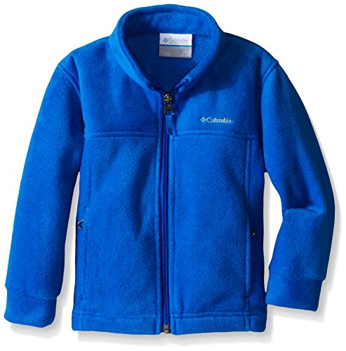 Columbia Boys Toddler Steens Mt Ii Fleece, Super Blue, 4T