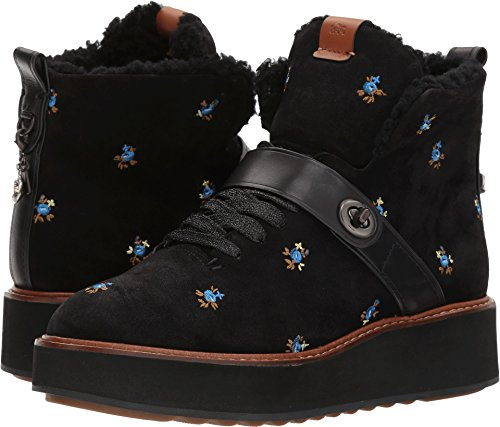 Coach Women's Urban Hiker Black/Black Prairie Leather 8.5 M US