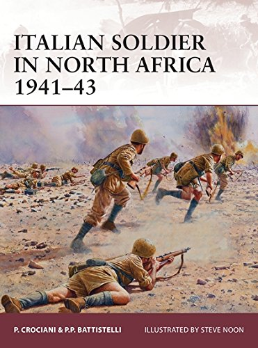 Italian soldier in North Africa 1941–43 (Warrior) ebook