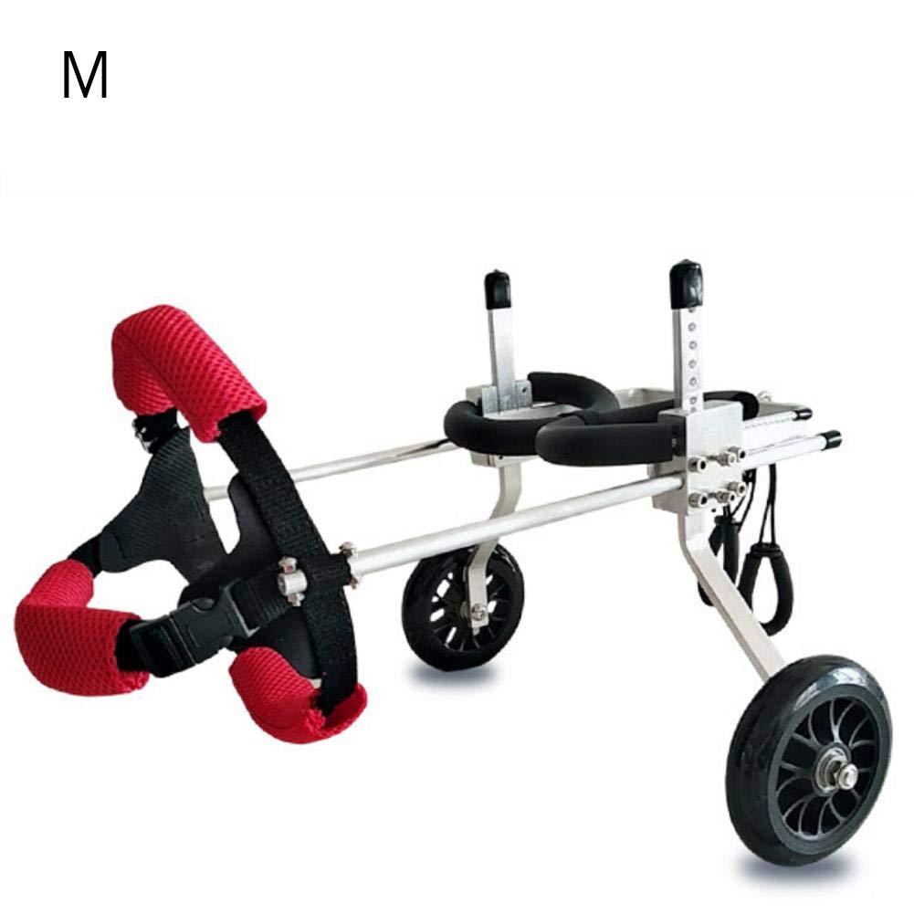 etateta Adjustable Dog Wheelchair for Back Legs,Hind Legs Auxiliary Pet Wheelchair,Soft Comfortable Dog Wheelchair for Small/Medium/Large Dog Carefully by etateta