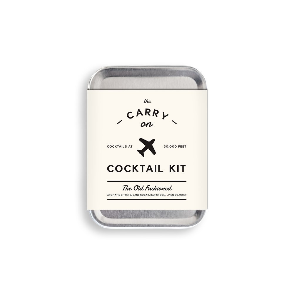 W&P Design Carry on Cocktail Kit für Old Fashioned Inflight Cocktails