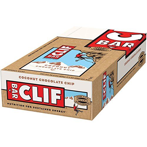 Clifbar Clifbar Clif Bars - 12 Pack Coconut Chocolate Chip, One Size Coconut Chocolate Chip, One - Clif Chocolate Bar Chip Coconut
