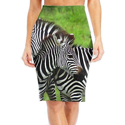 Zebra Print Smock Dress - 5
