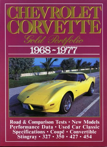 1974 1975 1976 1977 Car - Chevrolet Corvette 1968-1977: Gold Portfolio