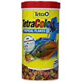 Tetra 77248 TetraColor PLUS Tropical Flakes, 7.06-Ounce, 1-Liter