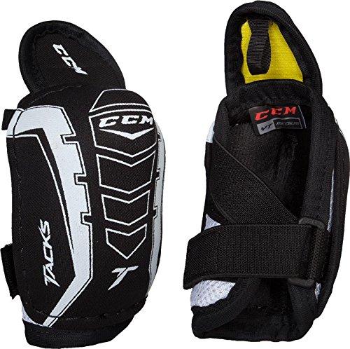 Ccm Elbow Pad - CCM Unisex Tacks Hockey Elbow Pads, Black, M