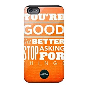 Shockproof Hard Phone Cover For Apple Iphone 6 With Allow Personal Design Lifelike Don Draper Quote Image