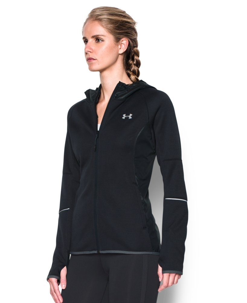 Under Armour Women's Storm Swacket Full Zip, Black/Black, Large by Under Armour (Image #3)