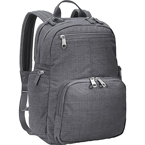 - eBags Kalya Day Tour 2.0 Small Carry-On Backpack w/RFID Anti-Theft Security for Travel - Fits 14