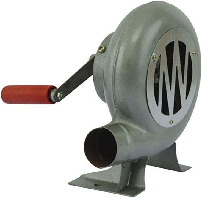 Color:black Garciakia BBQ Fan Air Blower Outdoor Cooking For ...