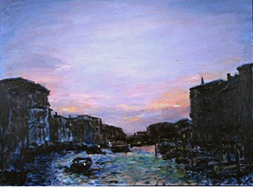 Winter Canal, An Original Painting Set In Venice, Italy