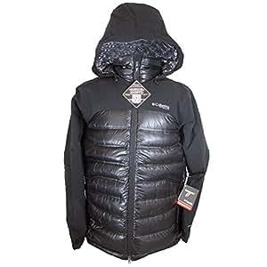 Columbia Men's Heatzone 1000 TurboDown Hooded Jacket Small Black