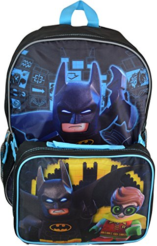 Lego Batman Large Backpack With Lunch Kit at Gotham City Store