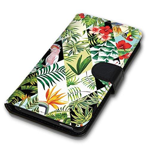 Wallet Book Style Flip Handy Tasche Case Schutz Hülle Schale Motiv Etui für Apple iPhone 5 / 5S - Design Flip MVD130
