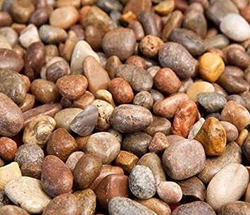 Piedras redondas de 14 mm – 20 mm para jardín, macetas de jardín, estanques de pescado, acuarios [apto para peces de 20 mm de grava]: Amazon.es: Bricolaje y herramientas
