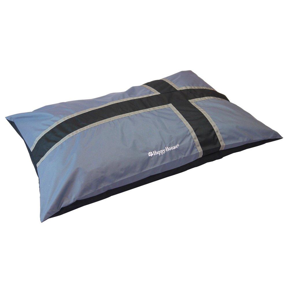 Grey Large Grey Large Happy-House Pillow Lounge, Large, Grey