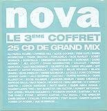 Nova - Le 3eme coffret - 25 cd de grand mix