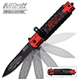 MT-A859RD AO FIREFIGHTER LED FLASHLIGHT FOLDING KNIFE- RED Review