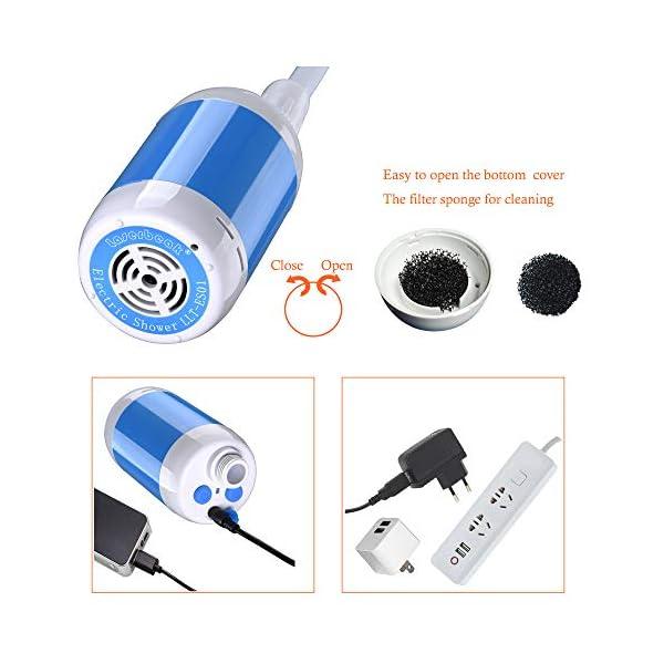 51BoykQVsWL Laserbeak Tragbare Duschen Camping Dusche Mobile Duschen Portable Duschen Außenduschen,Für Indoor oder Outdoor…