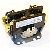 Replacement for Trane Single Pole / 1 Pole 30 Amp 24 Volt Coil Condenser Contactor CTR02579