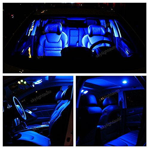 - Sky Auto INC LED Premium Blue Light Interior Package Kit for Lexus Is250 Is350 2006-2014 (14 pcs)