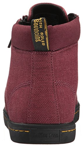 Dr. Martens Women's Maegley Fashion Boot, Cherry Red Woven Textile+Fine Canvas, 5 Medium UK (7 US) by Dr. Martens (Image #2)