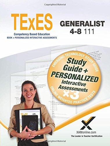 Pdf Test Preparation TExES Generalist 4-8 111