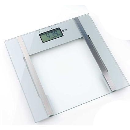 Báscula Báscula de análisis corporal, mide Peso, grasa corporal y agua Smart Scale