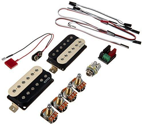 EMG Super 77 Retro Active Electric Guitar Humbucker Pickup Set Zebra [並行輸入品]   B078HXQ44Z