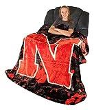 College Covers Nebraska Cornhuskers Throw Blanket/Bedspread