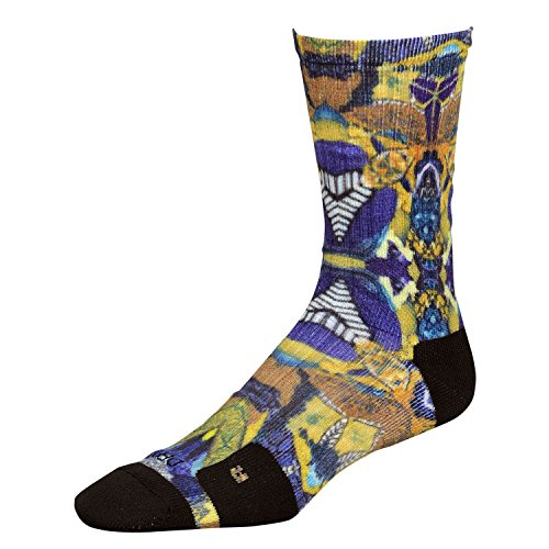 Nike Elite Kobe Digital Print Socks Large (Shoe Size 8-12) Sx5079-900