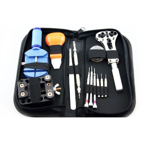 LB1 High Performance New 13 Pieces Watch Repair Tool Kit for Tissot Men's T0484173705700 T-Race Watch