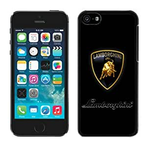 Unique Lamborghini logo 8 iPhone 6 4.7 Generation Black Case