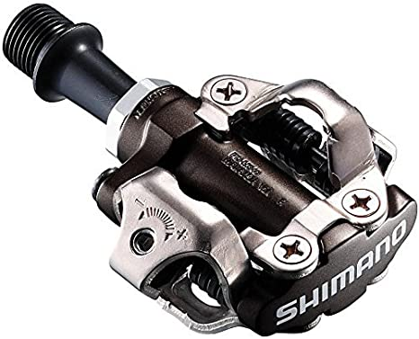2 pezzi colore Shimano EPDM520L Pedale MTB SPD Nero