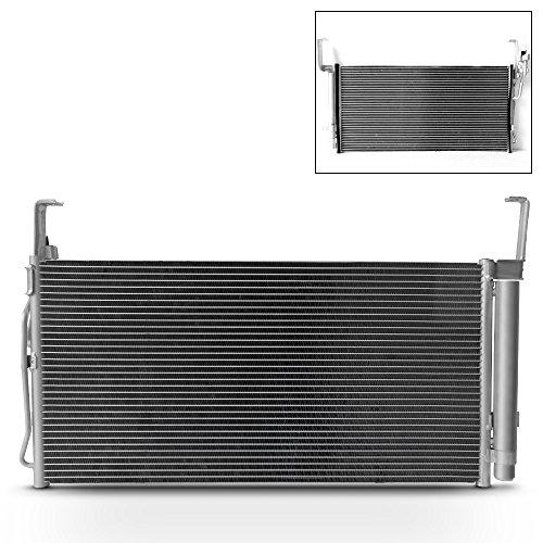 For NEW 7-3030 Aluminum A/C Condenser Replacement For 2001-2006 Santa Fe 2.4L 2.7L 3.5L L4 V6 HY3030106