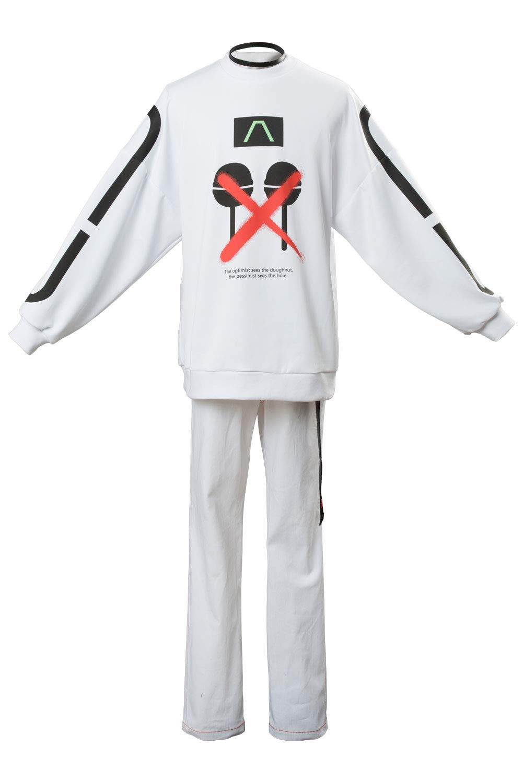 Weiß Maßanfertigung DRB Division Rap Battle The Dirty Dawg RAMUDA AMEMURA Cosplay Kostüm Maßanfertigung