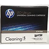 5 Pack HP C7978A Universal LTO Ultrium Cleaning
