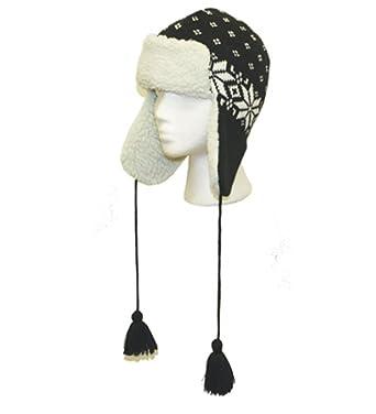 Amazon Black Warm Kids Trapper Hat Kids Warm Trapper Hat