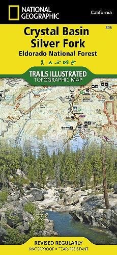 Crystal Basin, Silver Fork [Eldorado National Forest] (National Geographic Trails Illustrated Map)