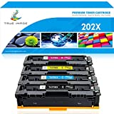 True Image Compatible Toner Cartridge Replacement for HP 202X CF500A CF500X 202A HP M281fdw M254dw Toner HP Color Laserjet Pro MFP M281fdw M281cdw M254dw M254nw M254 M281 CF501X CF502X CF503X Printer