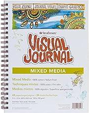 Strathmore Visual Journal Mixed Media Vellum 23 cm x 30 cm, 34 arkusze