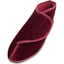 Ladies / Womens Orthopaedic / EEE Wide Fit Slipper Boot / Slippers
